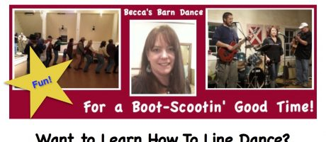 Line dancing by Becca's Barn Dance