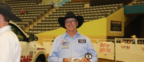 Stan Smith Wins Silver Bullet Buckle